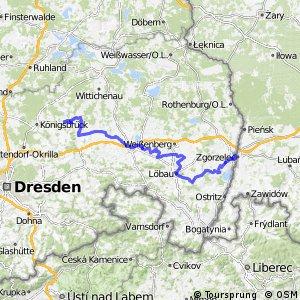 Sächsische Städteroute [Kamenz↔Görlitz]