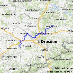 Sächsische Städteroute [Freiberg↔Kamenz]