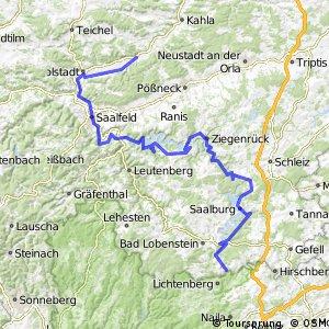 [D11] Ostsee-Oberbayern [Thüringen Süd]