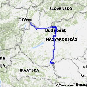 EuroVelo 6 - part Hungary
