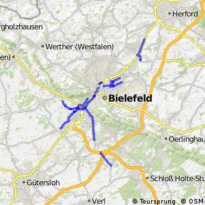 Radverkehrsnetz NRW, Stadt Bielefeld