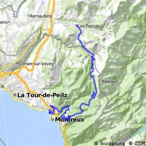 Panorama Bike - Etappe 14 (Les Paccots–Montreux)