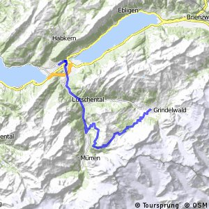 Alpine Bike - Etappe 12 (Grindelwald–Interlaken)