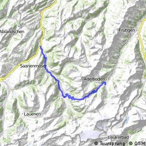 Alpine Bike - Etappe 14 (Adelboden–Zweisimmen)