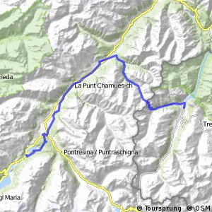 Alpine Bike - Etappe 3 (Livigno - St. Moritz)