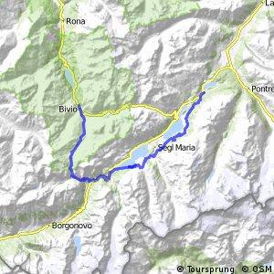 Alpine Bike - Etappe 4 (St. Moritz - Bivio)