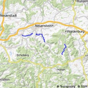 Radverkehrsnetz BW, Hohenlohe