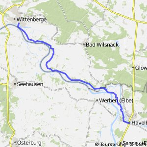 [D10] Elberadweg [Abschnitt G] Wittenberge - Havelberg [rechtselbisch]