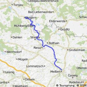 [D10] Elberadweg [Abschnitt M] Belgern - Meißen [rechtselbisch]