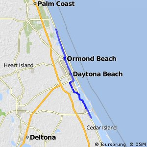 East Coast Greenway (Volusia County, FL north of Edgewater)