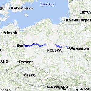 Szlak Stolic - część Polska