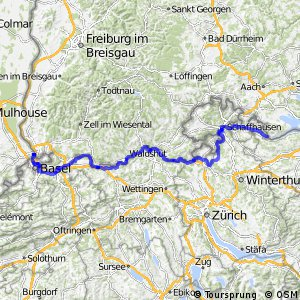 EuroVelo 6 - part Switzerland