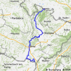 EuroVelo 9 - part Czech Republic