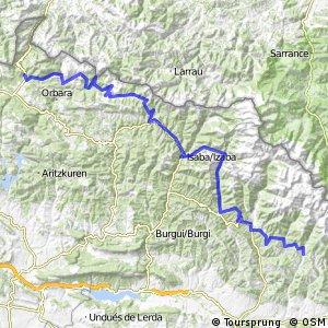 Ruta Transpirenaica en BTT (Aisa - Roncesvalles)