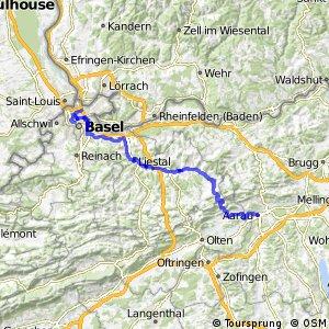 ncn 3 - Etappe 1 (Basel–Aarau)
