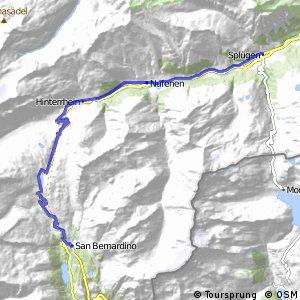 ncn 6 - Etappe 6 (Splügen-S. Bernardino)
