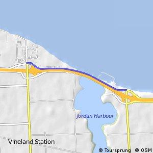 Waterfront Trail - Jordan Harbour shortcut