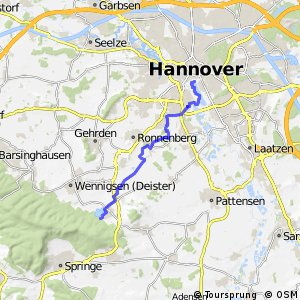 Fahrradregion Hannover - Regionsroute 2