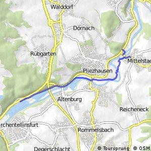 Radverkehrsnetz BW, Landkreis Reutlingen