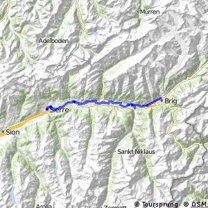 Rhone-Route - Etappe 3 (Brig-Sierre)