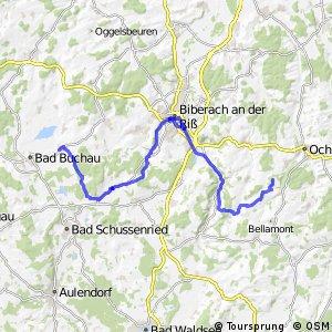 Donau-Bodensee-Radweg Querverbindung