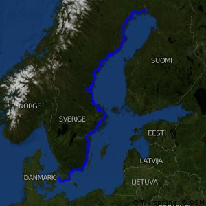 EuroVelo 10 - part Sweden