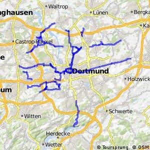Radverkehrsnetz NRW, Stadt Dortmund