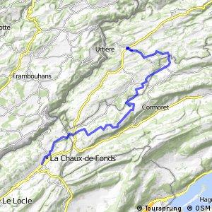 Jura Bike - Étape 5 (Saignelégier-La Chaux-de-Fonds)