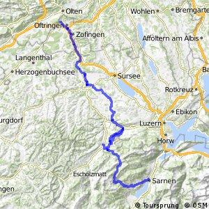 rcn 73 - Wiggertal–Glaubenberg (Olten (Aarburg)-Sarnen)