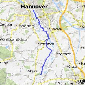 Fahrradregion Hannover - Regionsroute 15