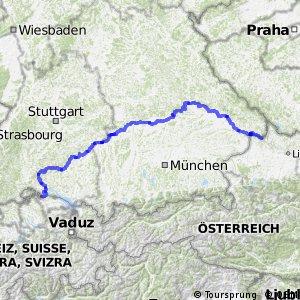 EuroVelo 6 - part Germany