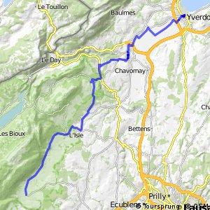 rcn 50 - Étape 4 (Yverdon-les-Bains-Bière)