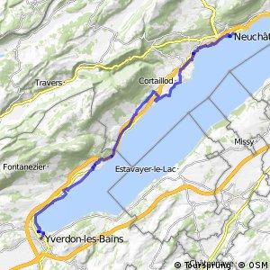 rcn 50 - Étape 3 (Neuchâtel-Yverdon-les-Bains)
