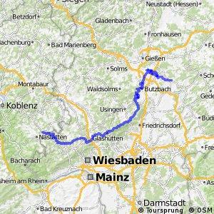 Deutscher Limes-Radweg 2. Abschnitt Holzhausen - Hungen
