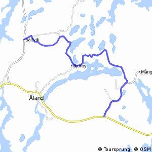 Cykelbana Saltvik - Finby