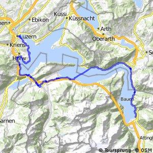 ncn 3 - Etappe 3 (Luzern-Flüelen)