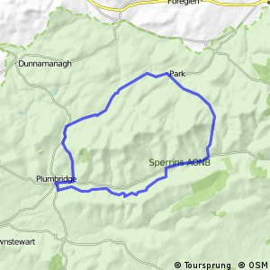 Sperrins Route 2 - The Sawel Cycle Route