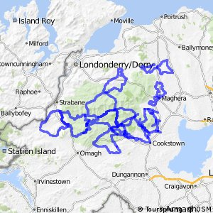 Cycle Routes -Sperrin Routes
