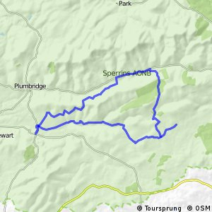 Sperrins Route 1 - Gold Cycle Route