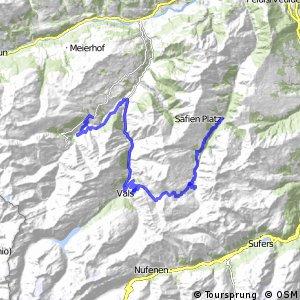 Graubünden Bike - Etappe 10 (Safien Platz–Lumbrein)