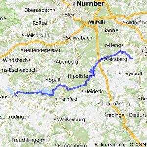 Fränkischer-Seenland-Weg