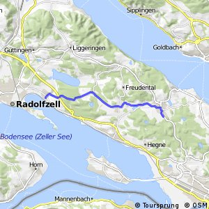 Bodenseeradweg Abkürzung Markelfingen–Dettingen