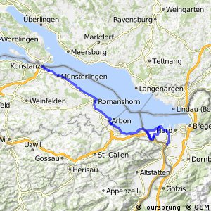 ncn 2 - Etappe 5 (St. Margrethen-Kreuzlingen)