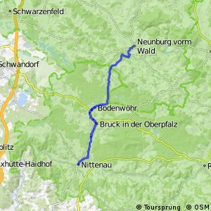 Regen-Schwarzach-Radweg