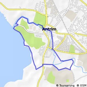 Loughshore Trail Route 1 - Antrim Loop