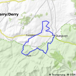 Sperrins Route 7 - Banagher Cycle Route