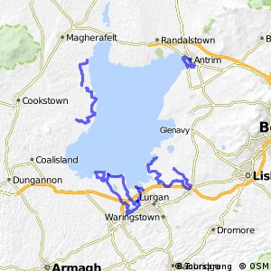 Cycle Routes -Lough Shore Trail
