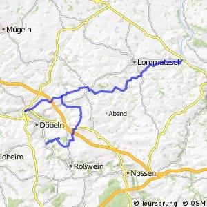 Döbeln–Elbe-Radroute