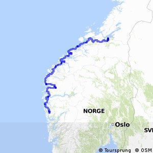 Nasjonal sykkelrute 1 (Bergen–Trondheim)