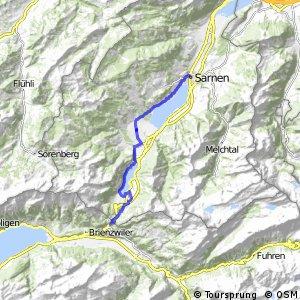 ncn 9 - Etappe 5 (Meiringen-Sarnen)